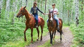 Прогулки на лошадях для двоих. Подарок-приключение