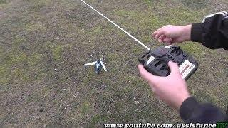 Радиоуправляемый вертолет / Первые полеты