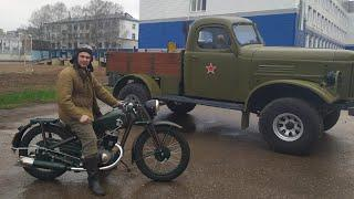 Мотоциклы М 72 и ИЖ 350. Интервью.