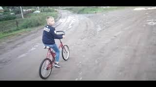Мини-покатушки на велосипедах+брат❤️