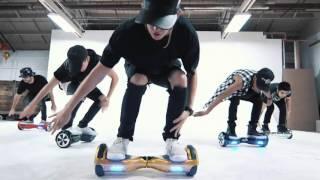 Красивый танец на гироскутере Smart balance | GIROMAX RU