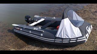 Лодка Таймень LX 3200 НДНД  и мотор Gladiator G 9.9 FHS.