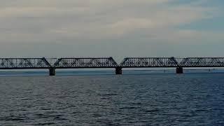 Ульяновск. Июль 2020 год. Речной порт. Прогулка на теплоходе по Волге.