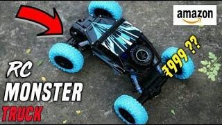RC Rock Crawler Monster Truck 4x4 Unboxing & Review | Best RC Car Truck Under 1200 On Amazon