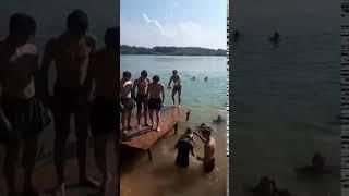 Прыжок в воду сальто назад