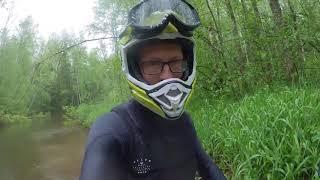 AcademeG Сломались на гидроцикле посреди леса без связи. Видео с IGTV