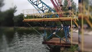 Безумные прыжки в воду