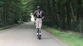 We ride together on Dualtron Thunder    E-Venture