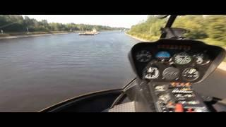 экстримальный полет на вертолете helicopter russian crazy pilot