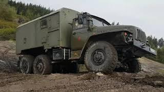 Урал 4320, ГАЗ 66 и ИФА. Ural 4320, GAZ 66und IFA. покатушки в Fürstenau Offroad