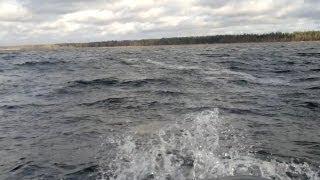 Экстремальная рыбалка на оз. Рушена