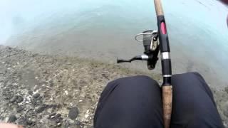 Экстремальная рыбалка на окуня!