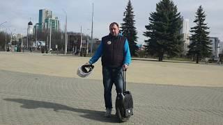 Авария на моноколесе в Минске, кто прав? Видеорегистратор на моноколесе