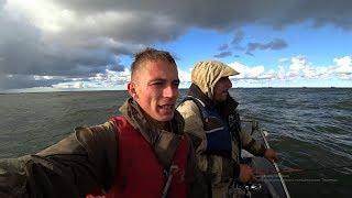 НУ И РЫБАЛКА...! Экстремальная рыбалка! Рыбалка осенью на спиннинг.