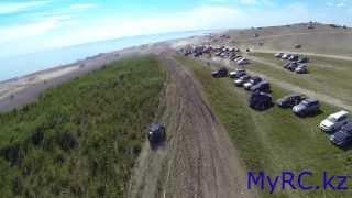 Июльский драйв Ponchfest 2013 с воздуха
