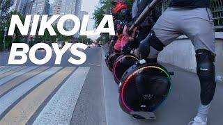 NIKOLA BOYS - Gotway Nikola group ride in Moscow