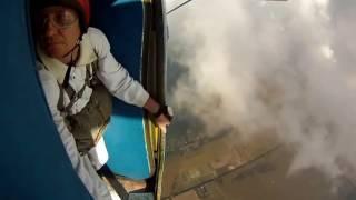 Экстрим!ПРЫЖЕК С ПАРАШЮТОМ !Extreme! PRYZHEK parachute!