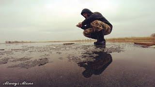 Экстремальная зимняя рыбалка.  Ловля окуня на балансир. Щука на жерлицы. Рыбалка на мотоцикле.