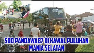 yang lagi viral !! SDD VOYAGER PANDAWA 87 di kawal puluhan mania jalur s3latan