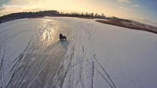 Зимние покатушки на льду