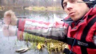 Первый лед Экстремальная рыбалка Зимняя рыбалка Щука на жерлицы pike fishing