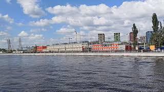 . Печатники-Устьинский мост. Поездка на белом теплоходе Москва-21. 20200822 113034