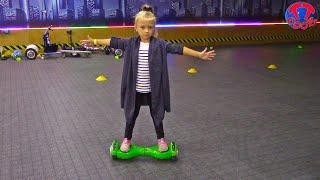 Влог Едем на ГИРОДРОМ Кататься на ГИРОСКУТЕРЕ Видео для Детей