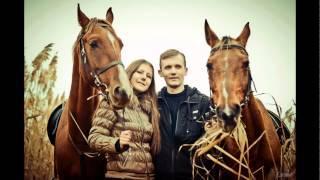 Прогулка верхом в Запорожье в. Хортица. Прогулка на лошадках.