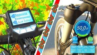 Лучший контроллер для редукторного мотор колеса MAC электровелосипеда. Ядреный контроллер 6Fet обзор