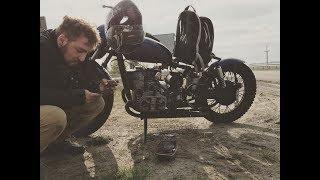 Покатушки на мотоциклах Днепр 11 (Киевская дамба )