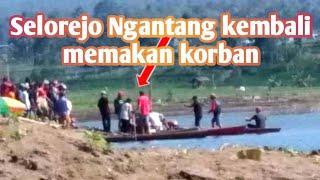seorang pemuda, niat mencari ikan di bendungan Selorejo Ngantang, malah berujung maut