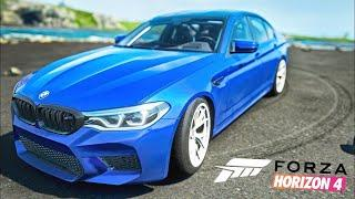 Forza Horizon - BMW M5 / In the first person