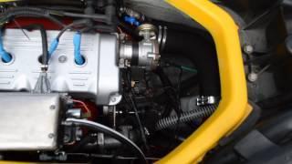 Конвертированный двигатель Audi на гидроцикле