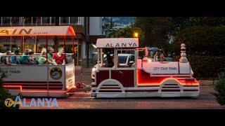 Аланья!Турция !Наше Большое Путешествие по Аланьи на Паровозике ! Незабываемое Впечатление и Кайф !
