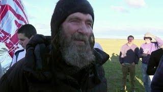 На этой неделе Федор Конюхов завершил свой кругосветный полет на воздушном шаре.
