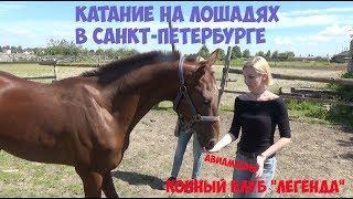 Катание на лошадях в Санкт Петербурге: Конный клуб Легенда