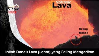 Inilah Danau Lava yang Paling Panas & Mengerikan
