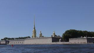 Санкт Петербург по рекам и каналам 2020 год 4К