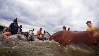 Искупаться на коне