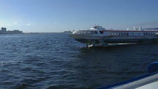 . Санкт-Петербург-Финский залив-Петергоф. Поездка на теплоходе Метеор