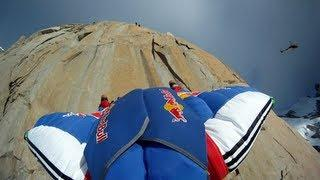 BASE Climbing & Wingsuit Flying - Red Bull From Top to Base