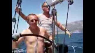 Покатушки на яхте