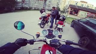 Бандой На Мотоциклах Ява 634638 Иж Планета Спорт 350 Jawa 350.