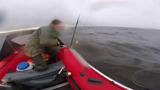 Экстремальная рыбалка в море (Рыбинское водохранилище)