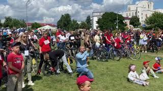 Велосипед в подарок и спортивная часть