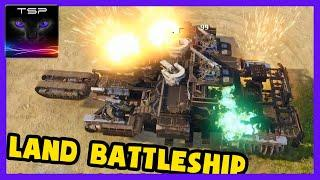 Crossout #595 ► LEVIATHAN Clan Wars - Massive Post-Apocalyptic Land Battleship Returns