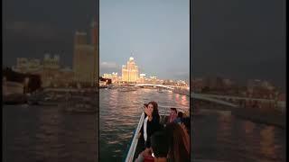 Москва река прогулка на теплоходе