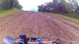 Покатушка на квадроцикле  на Горный Воздух ч2
