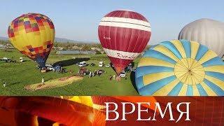 В Крыму 12-летняя девочка улетела одна на воздушном шаре.