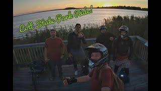 Electric Unicycle Group Ride - Providence Crew India Point to Colt State Park. MSP MSX Monster KS18S